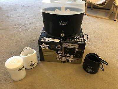 Tommee Tippee Closer to Nature Electric Steam Steriliser, Boxed - Black