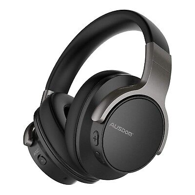 AUSDOM ANC8 Active Noise Cancelling Bluetooth Headphones BRAND NEW & SEALED
