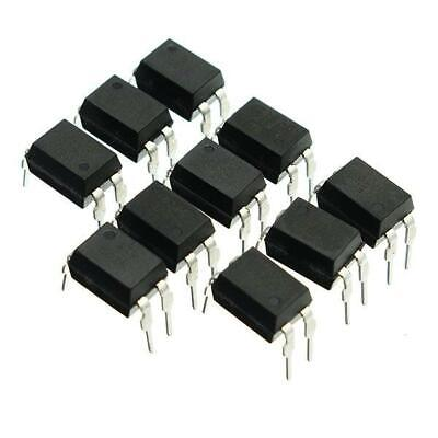 10x 817 (EL817, LTV817, PC817) Transistor Output Optocoupler Photocoupler