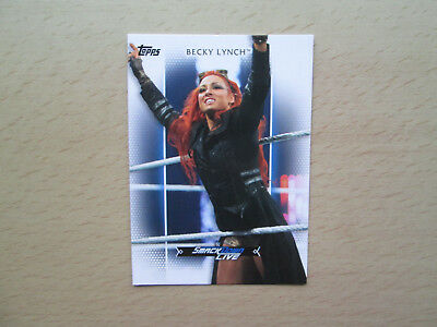 Topps WWE Woman's Division 2017 - Rooster Card - # R-27 - Becky Lynch