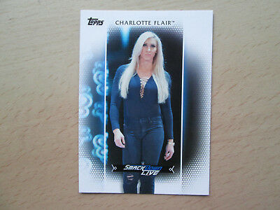 Topps WWE Woman's Division 2017 - Rooster Card - # R-29 - Charlotte Flair