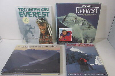 Mountaineering / Climbing themed book set x 20 titles, job lot, history etc