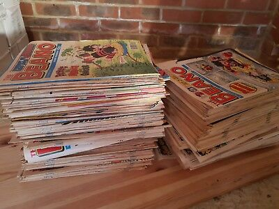BEANO comics 1990 - 1997 In excellent condition.