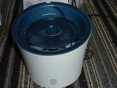 Catit Senses 3 Litre Blue Fresh Water Fountain for Cats and Dogs