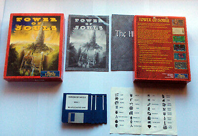 Tower of Souls Black Legend Commodore Amiga Boxed Ovp A1200 A4000