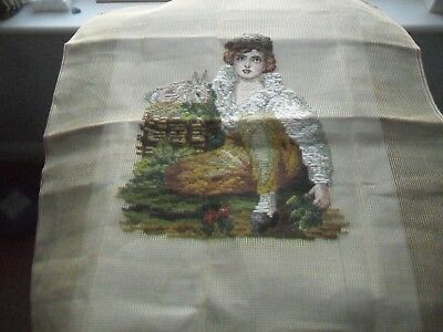 Unfinished Needlepoint/Tapestry