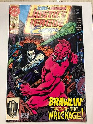 DC: Justice League Europe (1991) #33 1st Appearance Sonic the Hedgehog