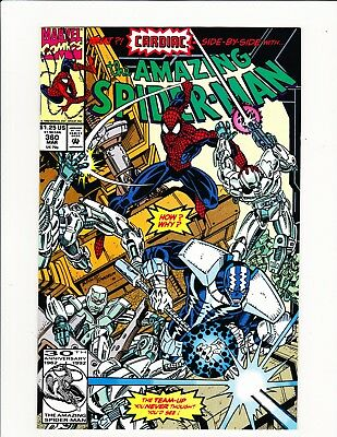 The Amazing Spider-Man #360 1St Appearance Carnage Rare Cameo Bagley Art  Key!