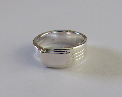 Sterling Silver Spoon Ring -  Tiffany / Century - size 8 1/2 - 1937