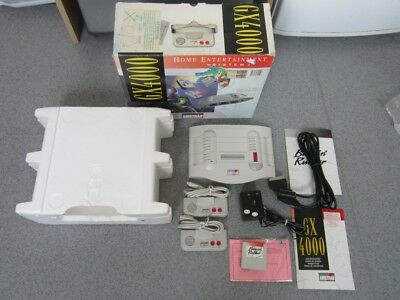 Boxed AMSTRAD GX4000 Console, Pads, Game etc