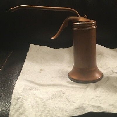 Vintage Eagle Oil Can Trigger Pump Oiler Made In USA