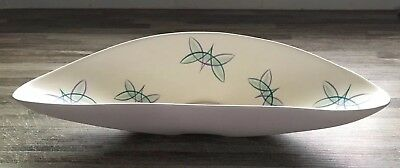 Early c1956-57 Ruth Pavely Poole Butterflies Freeform Flower Arranging Dish.