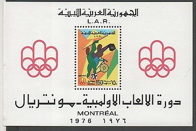 Libya. 1976 Olympic Games - Montreal, Canada. MNH