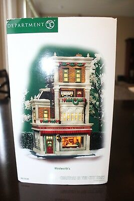 Department 56 Christmas In The City Series Woolworth's Building 56.59249