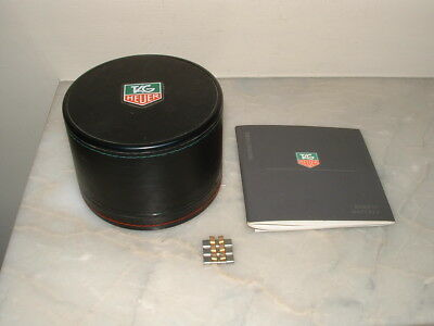 TAG Heuer, Watch Box, links & Booklet