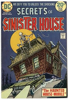 Secrets of Sinister House #16 VF/NM 9.0 white pages  DC  1974  No Reserve