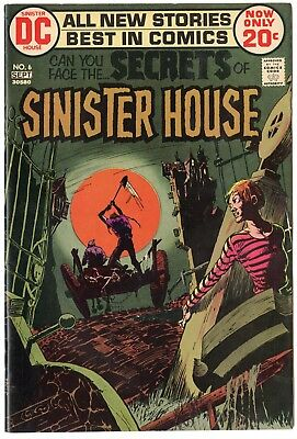 Secrets of Sinister House #6 VF/NM 9.0 off-white pages  DC  1972  No Reserve