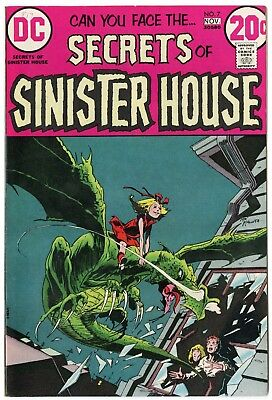 Secrets of Sinister House #7 NM- 9.2 white pages  DC  1972  No Reserve