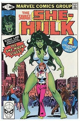 She-Hulk #1 NM 9.4 white pages  Marvel  1980  No Reserve