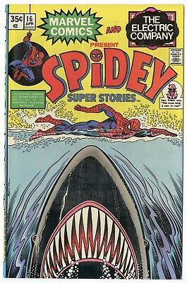 Spidey Super Stories #16 VF/NM 9.0 ow/white pages  Marvel  1976  No Reserve