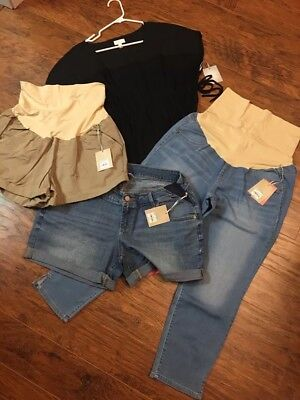 Lot Of 4 NWT A:glow Maternity Size Xl/16 Spring/summer
