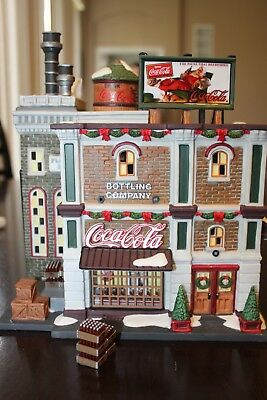Department 56 Christmas In The City Coca-Cola Bottling Company 59258