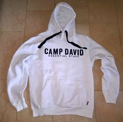 to buy huge selection of factory authentic CAMP DAVID HOODIE Essential Stuff Weiß Größe M Dieter Bohlen ...
