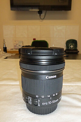 Canon EFS 10-18mm f/4.5-5.6 IS STM Wide Angle Zoom Lens