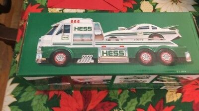 2016 Hess Toy Truck And Dragster, Nib