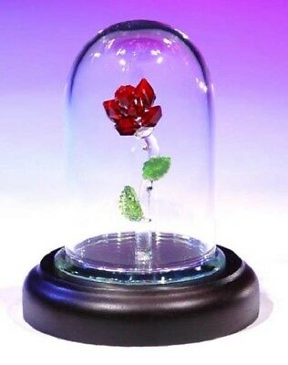 Crystal World - The Enchanted Rose - Code 879 - 85% Off Retail Of $69