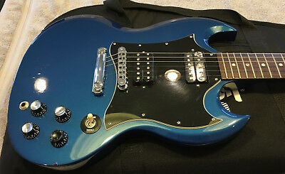 2004 GIBSON SG Sapphire Blue Guitar Center Limited Edition 118 of 200