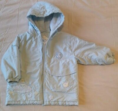 ee9320530990 Boys Pale Blue Dani By Sarah Louise Coat Age 36 Months 3 Years