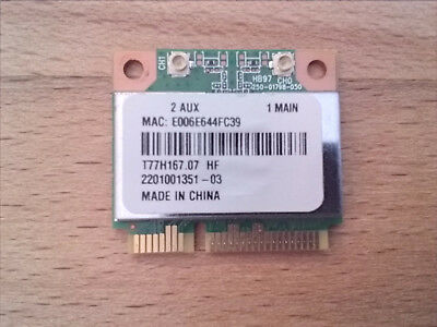 Atheros AR5B97 802.11b/g/n, Wireless Card WIFI Notebook!