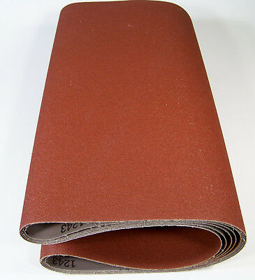 "2pc 18"" x 44"" P 50 GRIT SANDING BELT / ROLL Made in USA Butt Joint A/O 44 by"