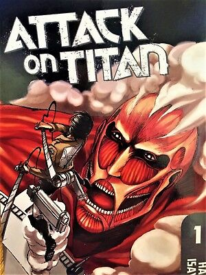 Attack on Titan by Hajime Isayama (2010/2012) - Graphic Novel Promo Sampler