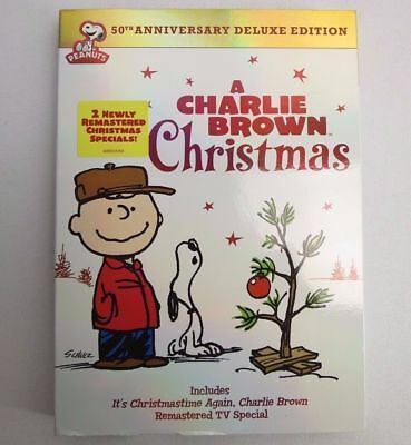 A Charlie Brown Christmas DVD 50th Anniversary Deluxe Edition/2-Remastered Spec