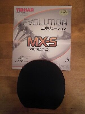 Tibhar Evolution MX-S Schwarz MAX