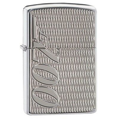 "Zippo 29550, ""James Bond 007"" High Polish Chrome Armor Lighter"