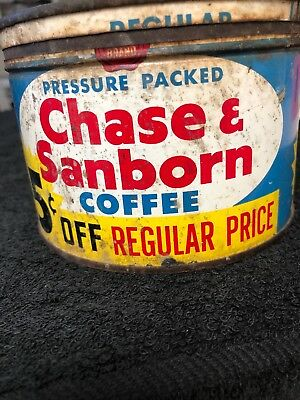 Vintage Coffee Tin Can