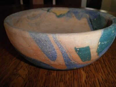 Niloak Vase BowlArt Pottery Mission Swirl Excellent Condition Very Early Rare