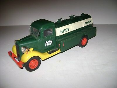 1980 Hess Truck No Box Lights Work,played with condition,made in Hong Kong