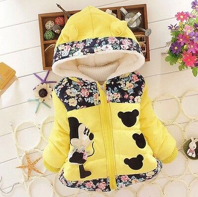 Minnie Mouse Winter Coat 2/3yrs