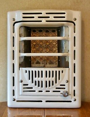 Vintage Rless 7602e Hearth Fyre White Porcelain Natural Gas Wall Heater