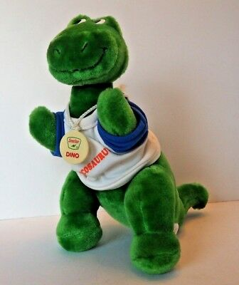 Sinclair Oil & Gas Sinclair Dino wearing T-shirt Plush Green Brontosaurus 12""