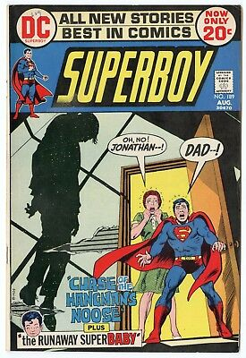 Superboy #189 VF+ 8.5 off-white pages  DC  1972  No Reserve