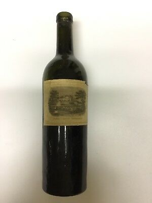 Chateau Lafite Rothschild 1928 Empty Bottle