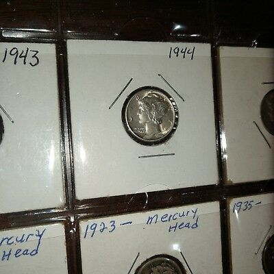 Mercury Dime Lot With Extras