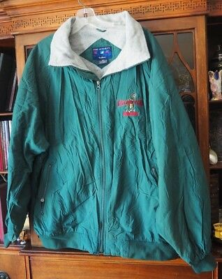 Sinclair Oil Gas Gasoline Corporate Jacket Coat Balloon Team Dinosaur Size XL