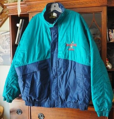 Sinclair Oil Gas Gasoline Corporate Jacket Coat Balloon Team Dinosaur Size XXL