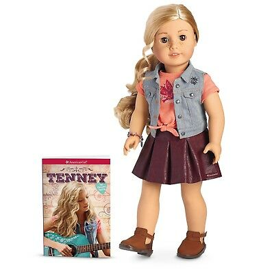 American Girl Doll Tenney Grant 18 Inch and Book New In Box